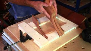 Routing the Corbel by Hand
