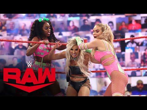 Naomi & Lana vs. Mandy Rose & Dana Brooke: Raw, May 31, 2021