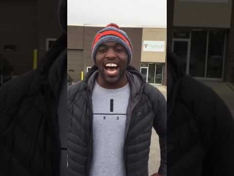 Sam Acho from Chicago Bears loving message for Mikaeel
