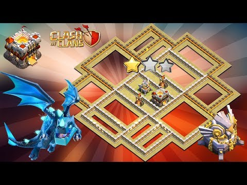 4 REPLAYS !! BEST TH11 War Base 2019 Anti 2 Star Anti Electro Dragon Anti Bowler Clash Of Clans