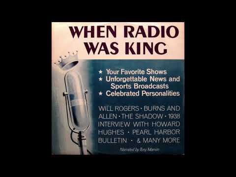 When Radio Was King(Vinyl) - The Earliest Days of Radio | Radio Samples