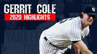 Gerrit cole   2020 highlights (regular season)