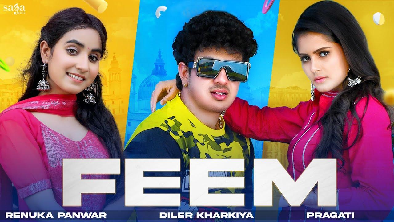 Feem - Diler Kharkiya | Renuka Panwar | Pragati Tiwari | Haryanvi Songs Haryanavi | Moto Hr Song
