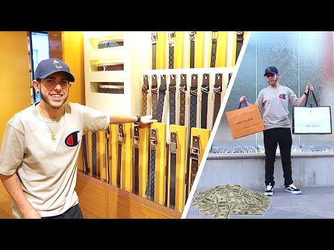 Surprised him with $3,000 SHOPPING SPREE!!