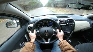 2018 Renault Logan POV Test Drive