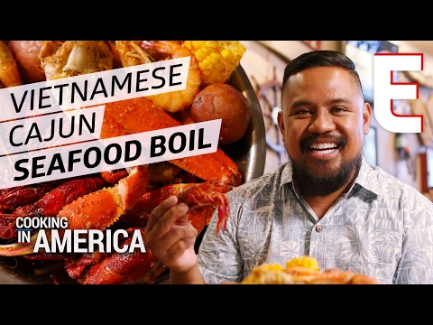 The Vietnamese-Cajun Crawfish Boil That Brings NOLA To Houston — Cooking in America