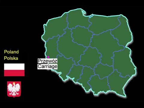 Funny Names of Polish Cities And Villages - part 3 [ Map of Poland ]