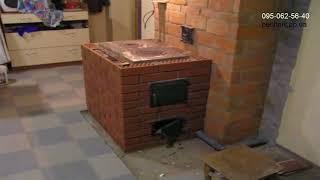 видео Печное отопление деревянного дома