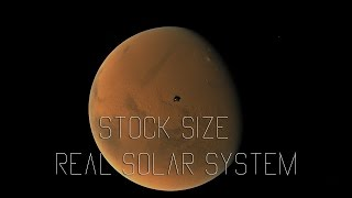 Stock Size Real Solar System - KSP