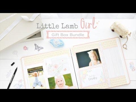 Little Lamb Girl Gift Box Bundle   Creative Memories Australia