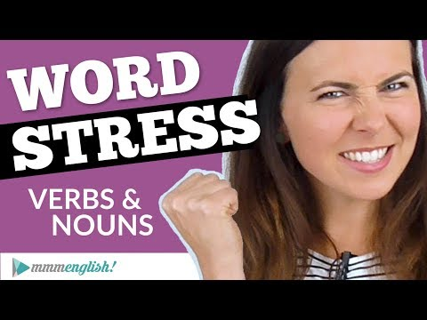 Word Stress in English | How to Pronounce... ✅
