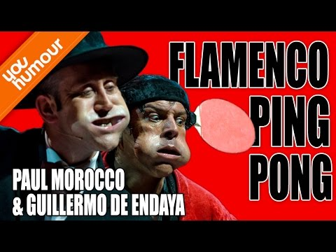 PAUL MOROCCO ET GUILLERMO DE ENDAYA - Flamenco Ping Pong