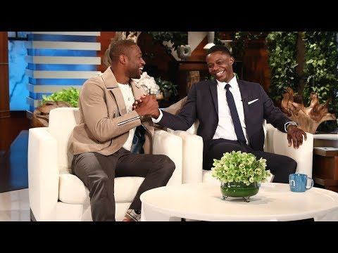 Waffle House Hero James Shaw Jr. Meets His NBA Idol Dwyane Wade