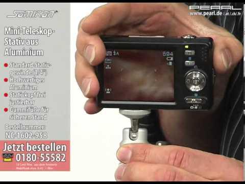 Teleskop stativ kamera mond fotografie kamera mit stativ