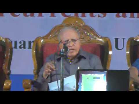 Dr.M.S.Swaminathan Founder & Chairman M.S.Swaminathan Research Foundation (MSSRF), Chennai