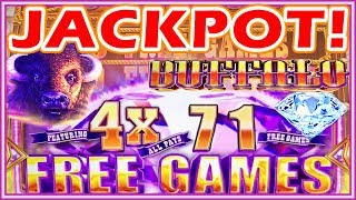 ★1st 1000x 💎JACKPOT HANDPAY💎!! NEW BUFFALO DIAMOND SLOT MACHINE | BEST 4x FIRST SPIN BONUS★
