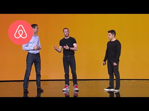 Brian Chesky Launches Trips | Airbnb Open 2016 | Airbnb
