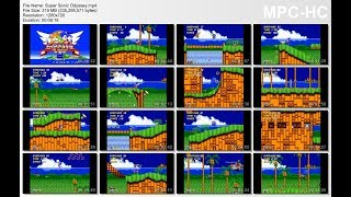 Super Sonic Odyssey (Genesis) - Walkthrough
