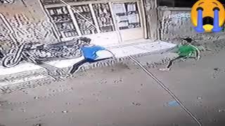 #اعدام راجح فيديو لحظات هروب محمود البنا من القاتل محمد راجح ولحظات قتله