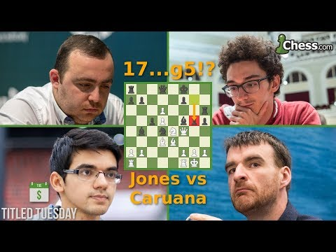 Titled Tuesday Blitz Chess Tournament: May 2018 With Caruana and Giri