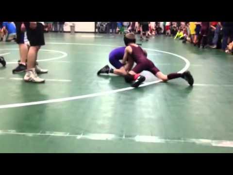 Owen Carlson- Huskie Wrestler