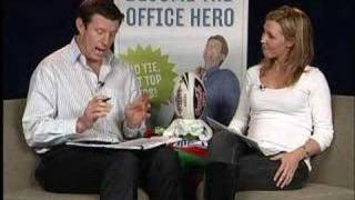 Footy Tips TV NRL Round 18 2007 Lana Taylor Jimmy Smith Prev