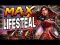 Smite: MAX Lifesteal Pele Build - Full Health with 3 Auto Attacks?