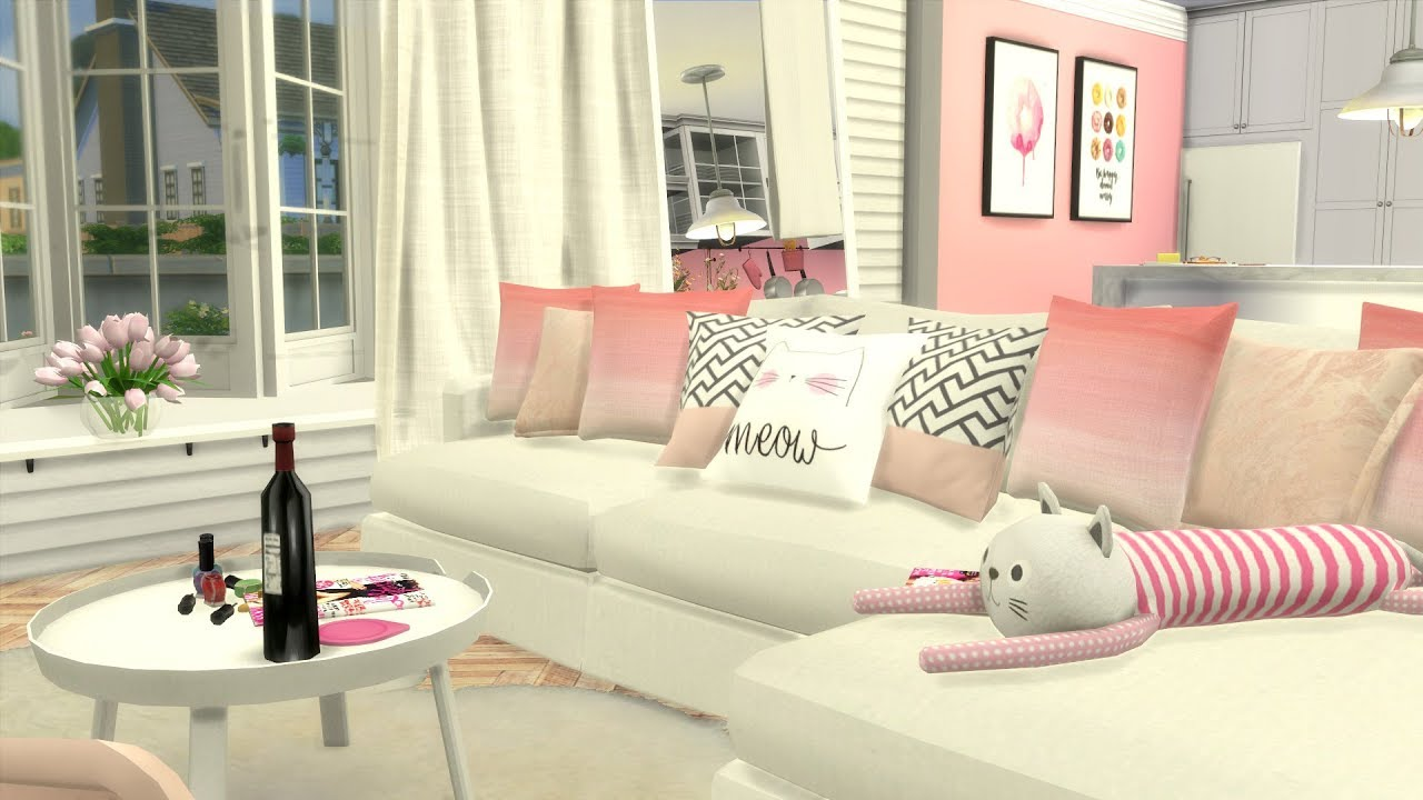 The Sims 4 Sd Build Y Pink Apartment Cc Links