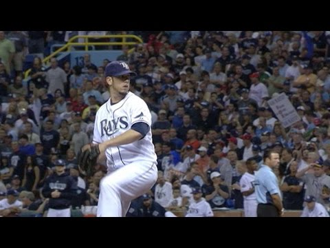 2008 WS Gm2: Shields strikes out 4 over 5 2/3 innings