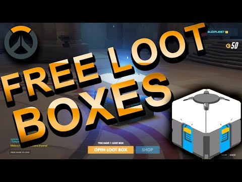 Overwatch Loot Boxes Hack 2018  | How To Get Free Loot Boxes in Overwatch ! PC/XBOX/PS4
