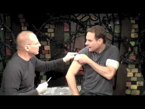 Flu Shots with Dr. Barry Kohn and the Cast- feat. ...