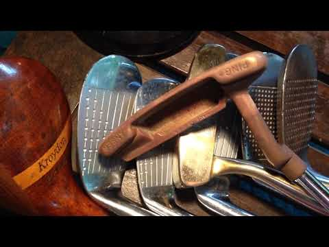 Old Golf Clubs- Thrift Store Finds Over The Course Of One Year