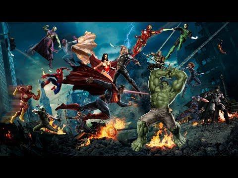 Marvel Vs DC Epic Battle.