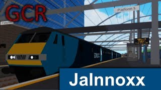 Grand Continental Railways Trainspotting across the network (GCR Roblox)