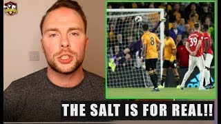 Man United were UNLUCKY! Wolves 1-1 Manchester United Reaction