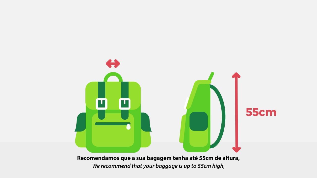 Guia para a Bagagem de Mão // Hand Baggage Guide