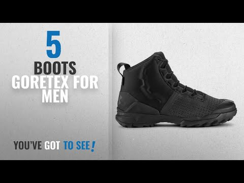 top-10-boots-goretex-[-winter-2018-]:-under-armour-men's-ua-infil-gore-tex-boots,-black---11-size