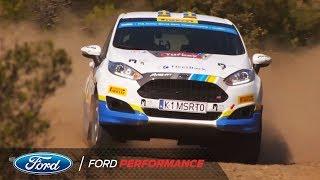 Sweden's Bergkvist Wins FIA Junior WRC Championship | Ford Performance