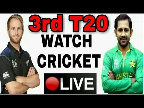 3rd T20 Pakistan Vs Newzealand Live Today Match On PTV Sports Live Hd