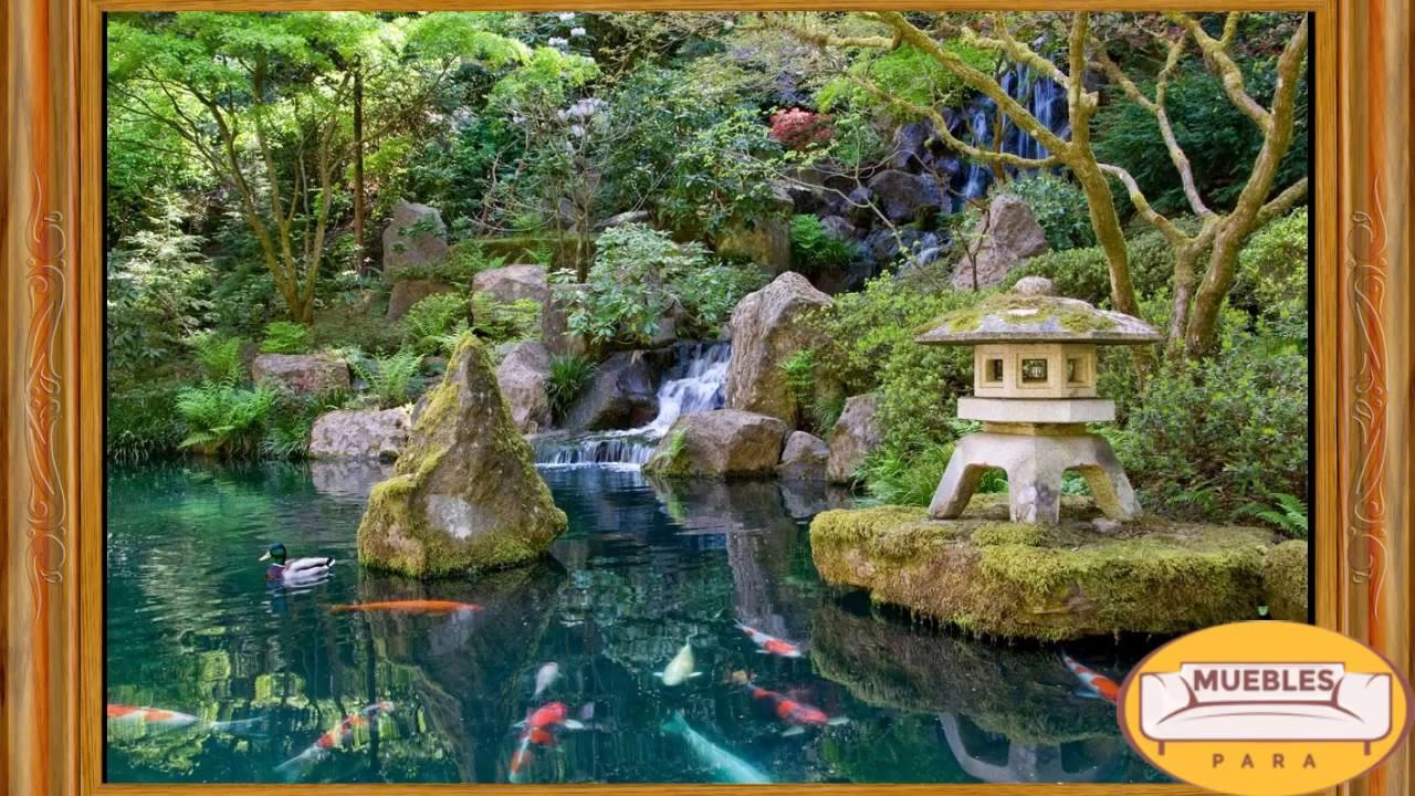 Jardines japoneses youtube - Fotos jardines japoneses ...