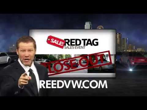 Randall Reed VW Red Tag Sales Event