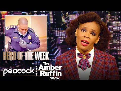 Why Do Black People Always Have to Save America?: Week In Review | The Amber Ruffin Show