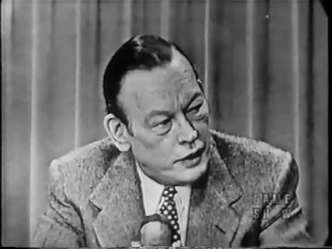 Two For The Money - Fred Allen hosts (Jan 9, 1954) - Intro by Frank Gorshin