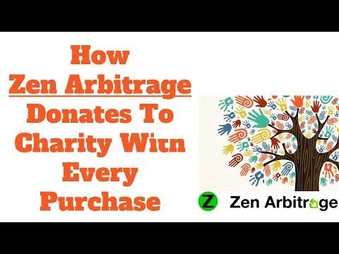 How Zen Arbitrage donates to charity with every book arbitrage purchase (via Amazon Smile)