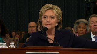 Hillary Clinton recalls the night of Benghazi attacks