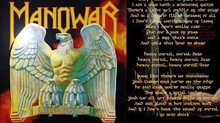 Manowar - Metal Daze - Lyric Video