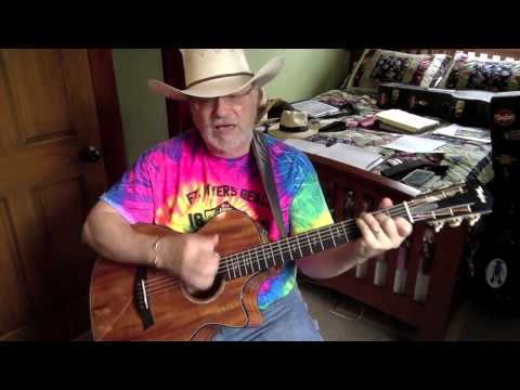 1833 -  Cowboys Like Us -  George Strait vocal & acoustic guitar cover with chords