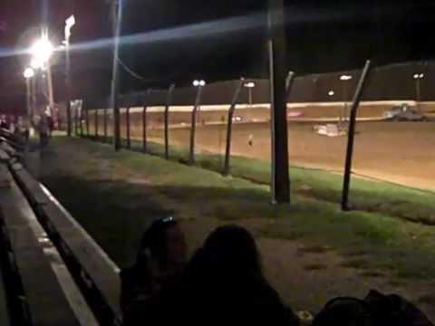 Mini stock heat race 9/22/12 @western kentucky speedway