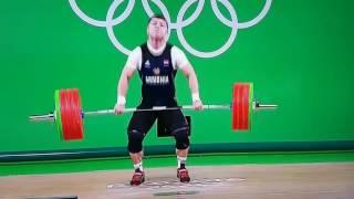 Армянский тяжелоатлет Андраник Карапетян получил ужасную травму на Олимпиаде в Рио-де-Жанейро