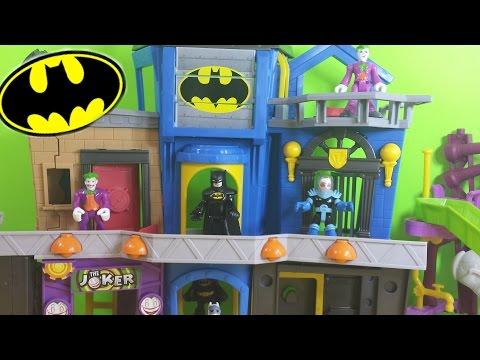 DC Superhero Imaginext Batman Gotham City Playset W/ Joker, Mr.Freeze